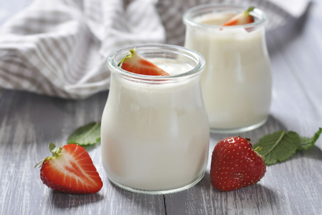 Yogures de soja