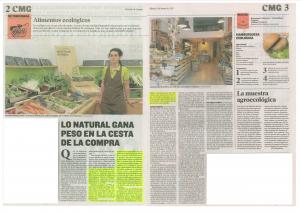 Noticia publicada por el Heraldo de Aragón